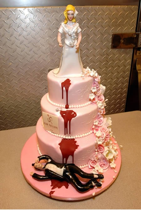 Jesus Saved Cheryl Meril From Hell: Scary New Divorce Cake ...