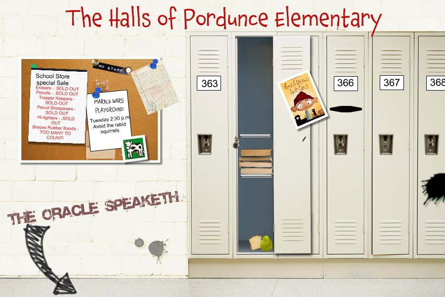 The Halls of Pordunce Elementary