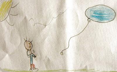 O balão do João: ilustração
