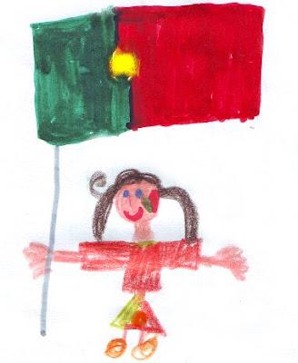 Desenho Infantil: Dia de Portugal
