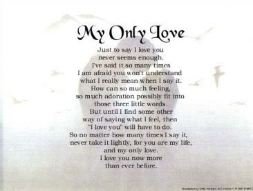 The true love poems blog