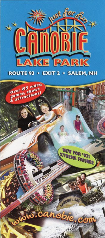 its colorful its thrilling and apparently its too extreme for proper spelling its the xtreme frisbee and it made its debut at canobie lake in 2007