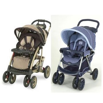 graco metrolite stroller  sterling