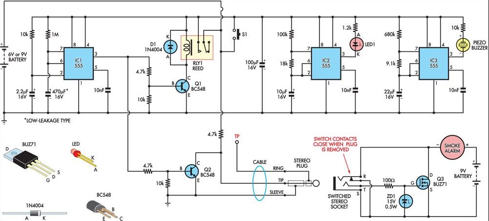 Simple Circuit Diagram Of Smoke Detector | September 2013 Diagram And Circuit 13 Dynotab Nl