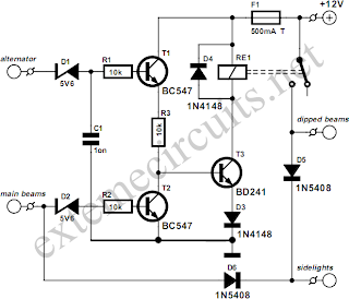 Lights On Circuit Diagram