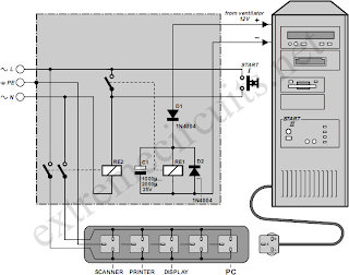 Automatic Mains Disconnect Circuit Diagram