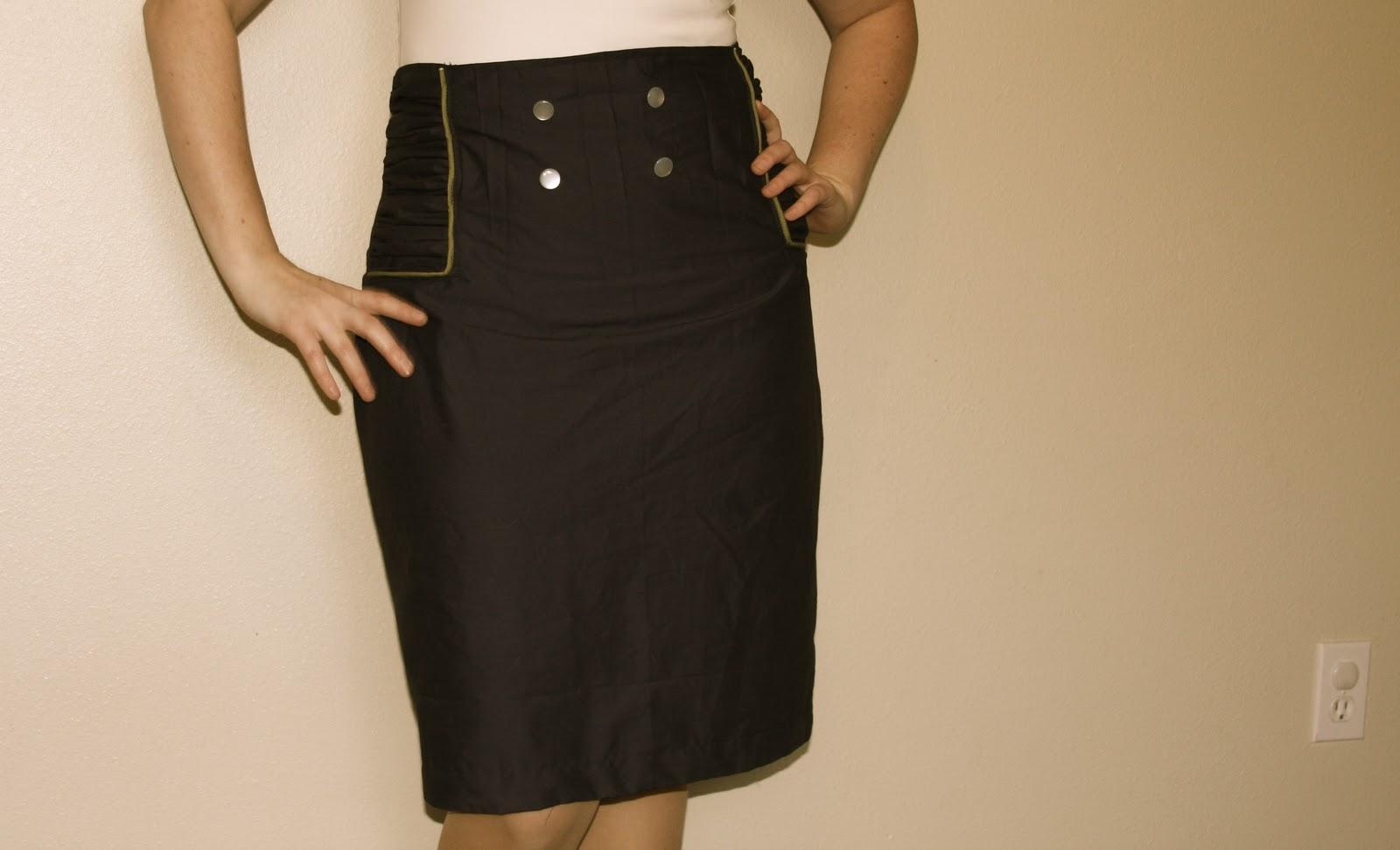Сшить юбку карандаш с фото