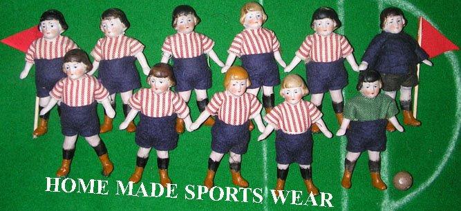 Homemade sportswear