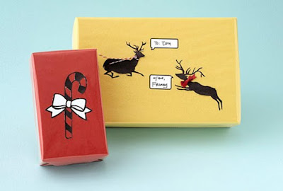 Christmas Gifts cards symbolize love