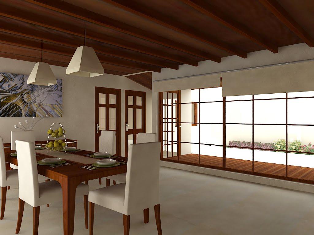 Infograf a 3d dise o arquitect nico arquitectura del - Casas interiores ...