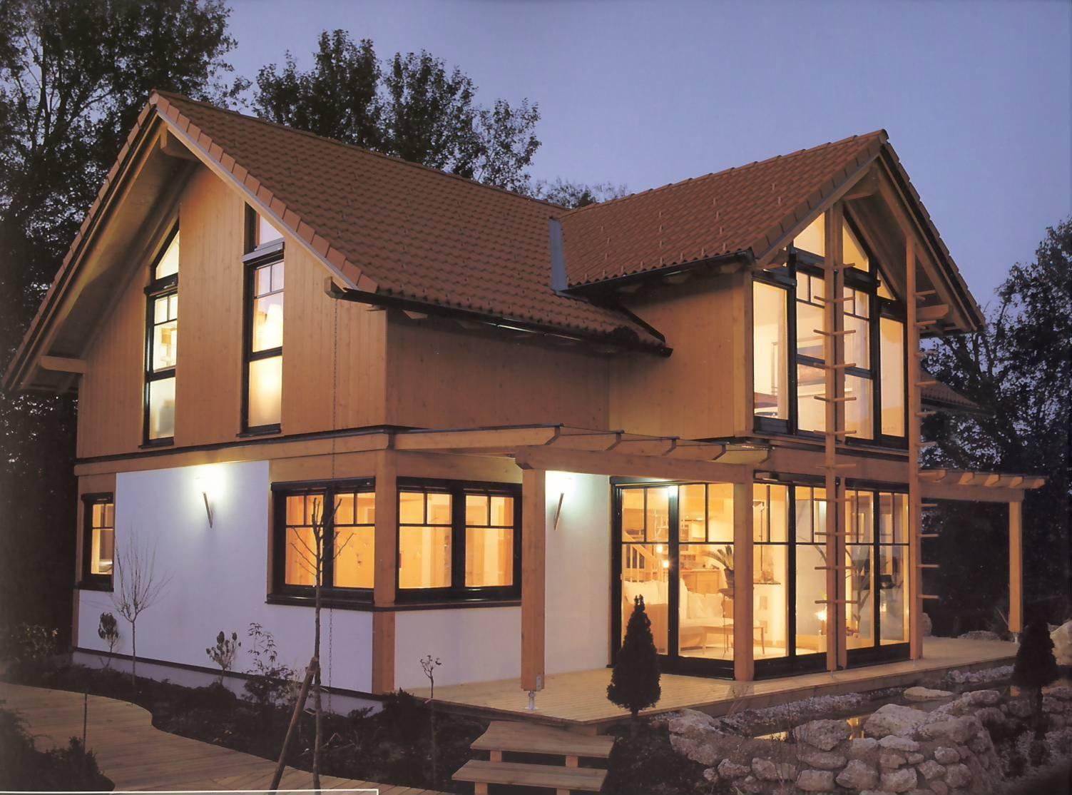 progetto casa naturale case in legno prefabbricate. Black Bedroom Furniture Sets. Home Design Ideas