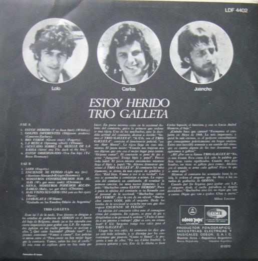 Trio Galleta Estoy Herido