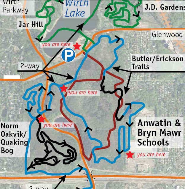 Run Minnesota Tuesday Trails Theodore Wirth Park Minneapolis