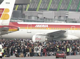 Terminal 4 de Barajas, onde houve o atentado / El País