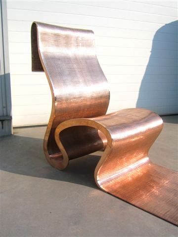 the bad-tempered chair by ron arad, the use of black and silver, Attraktive mobel