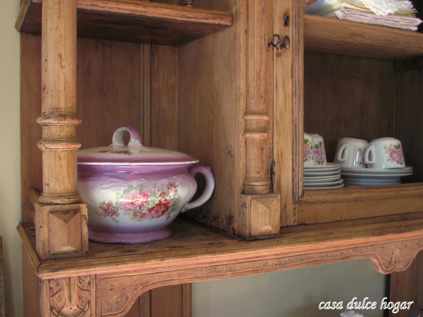 Casa dulce hogar antes y despu s de dos muebles antiguos for Muebles antiguos restaurados antes y despues