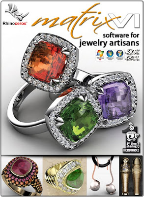 Gemvision Matrix 3D v60 Jewelry Design Software crack
