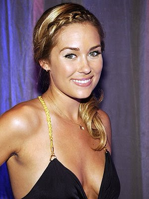 lauren conrad hair color 2010. Here, Lauren wears one of her