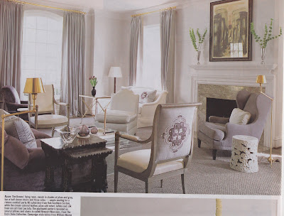 Site Blogspot  Upholstered Chairs  Living Room on The Living Room Is Dressed In Shades Of Grey And Plum Features Ample