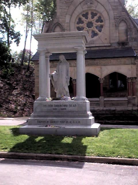 Chapel statue