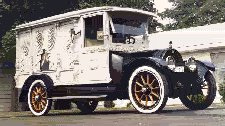 1916 Giesel Carved Panel Hearse ~