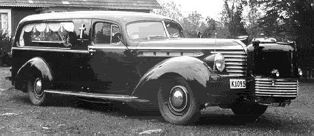 1938 Hudson Hearse ~