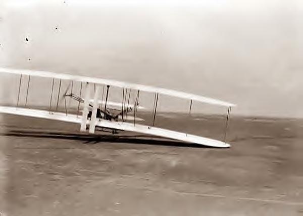 Wright Bros 3rd flight, 1903