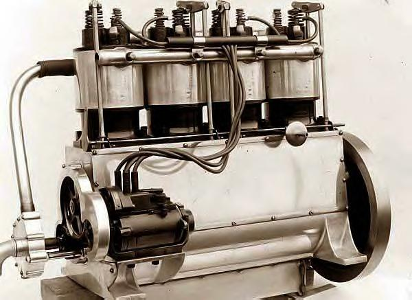 Wright Brothers 4-cylinder Airplane Engine, 1911