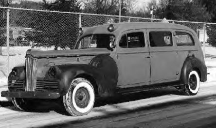 1942 Packard Ambulance ~