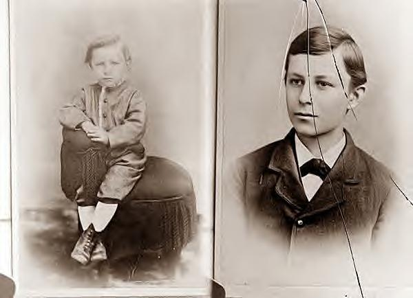 Wilbur Wright as a child