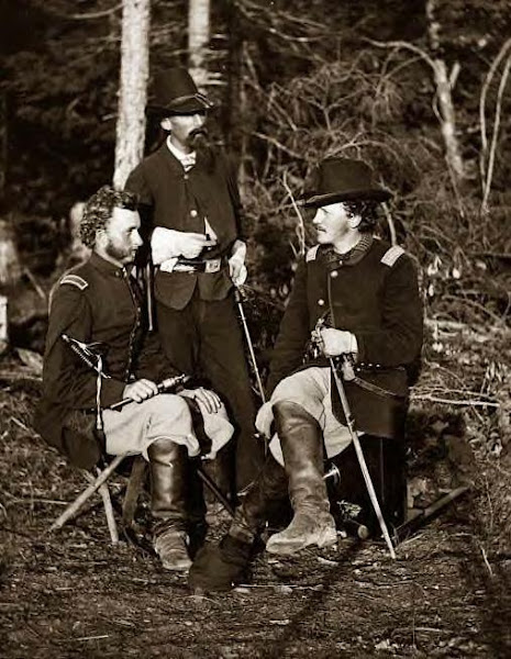 Custer, Nicolas Bowen & William G. Jones, 1862