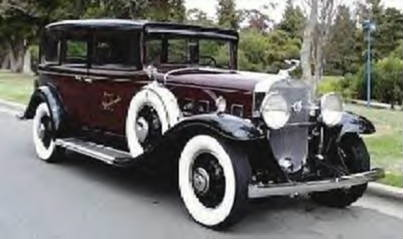 1931 Cadillac Formal Sedan ~