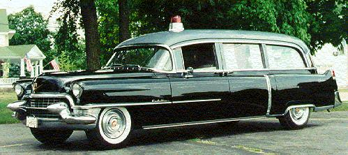 1955 Cadillac Ambulance ~
