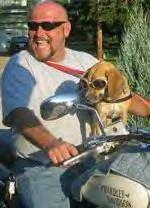 Kyle & Lucy on the bike