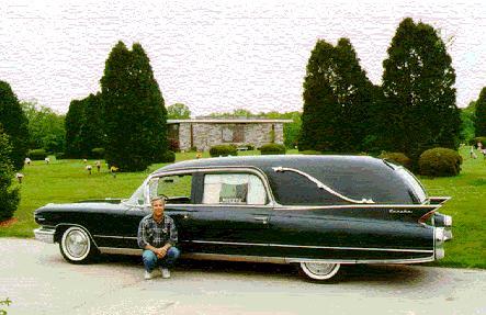 1960 Cadillac Landau Hearse ~