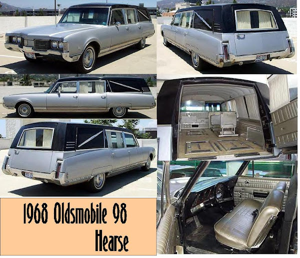 1968 Oldsmobile 98 Hearse ~