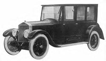 1919 Rolls Royce Phianna Limo ~