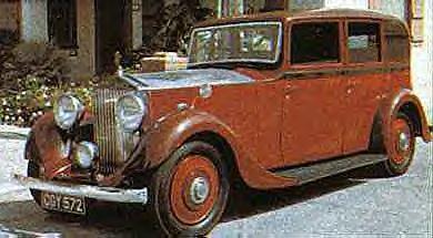 1934 Rolls Royce 20-25 Limo ~