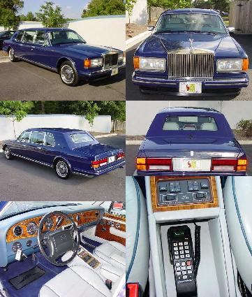 1994 Rolls Royce Silver Spur III Limousine ~