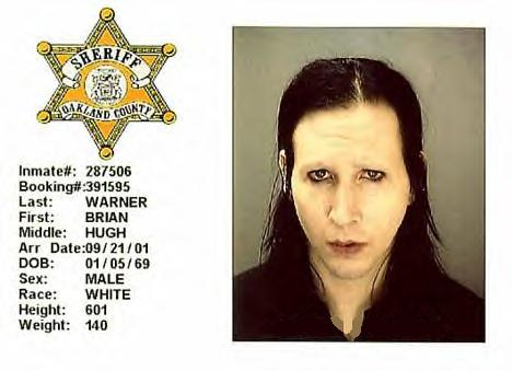 Marilyn Manson (Brian Hugh Warner)