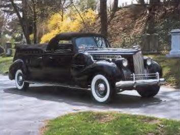 1939 Packard Flower Car ~