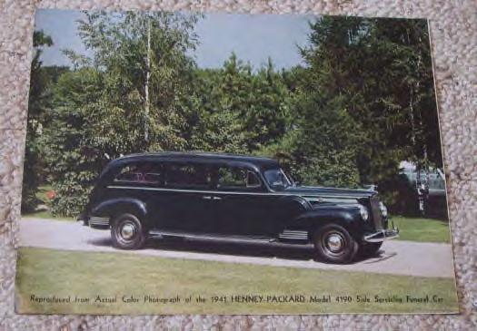 1941 Packard Henney Hearse ~