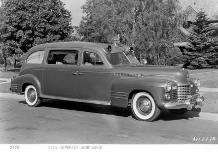1940 Cadillac Superior Ambulance ~