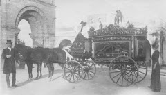 Old hearse set for funeral ~