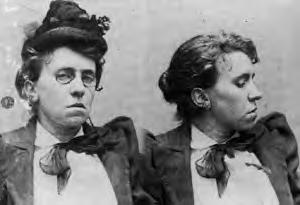 Police mug shot of Emma Goldman, 31 August 1893