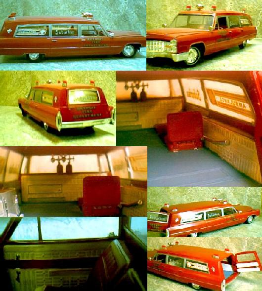 1966 Cadillac Ambulance ~