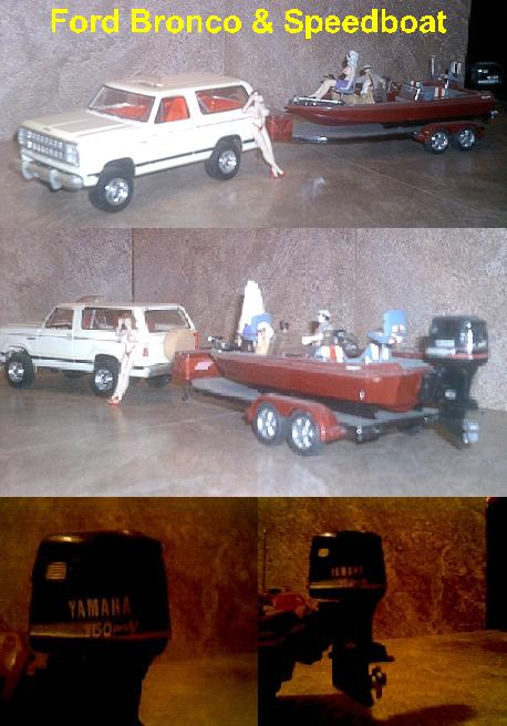 Ford Bronco & Speedboat ~