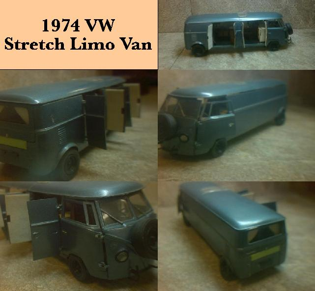 1974 VW Stretch Limousine Van ~