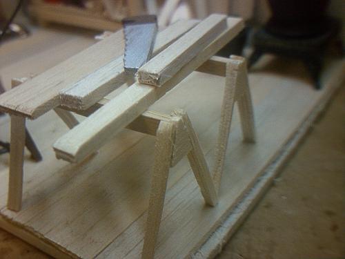 Sawhorses & Lumber