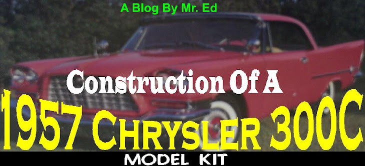 Building a 1957 Chrysler 300C Model Kit